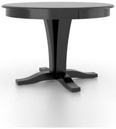 Canadel Gourmet - Custom Dining Customizable Round Table with Pedestal Base