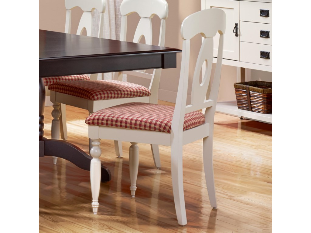 Canadel Gourmet - Custom Dining<b>Customizable</b> Upholstered Side Chair