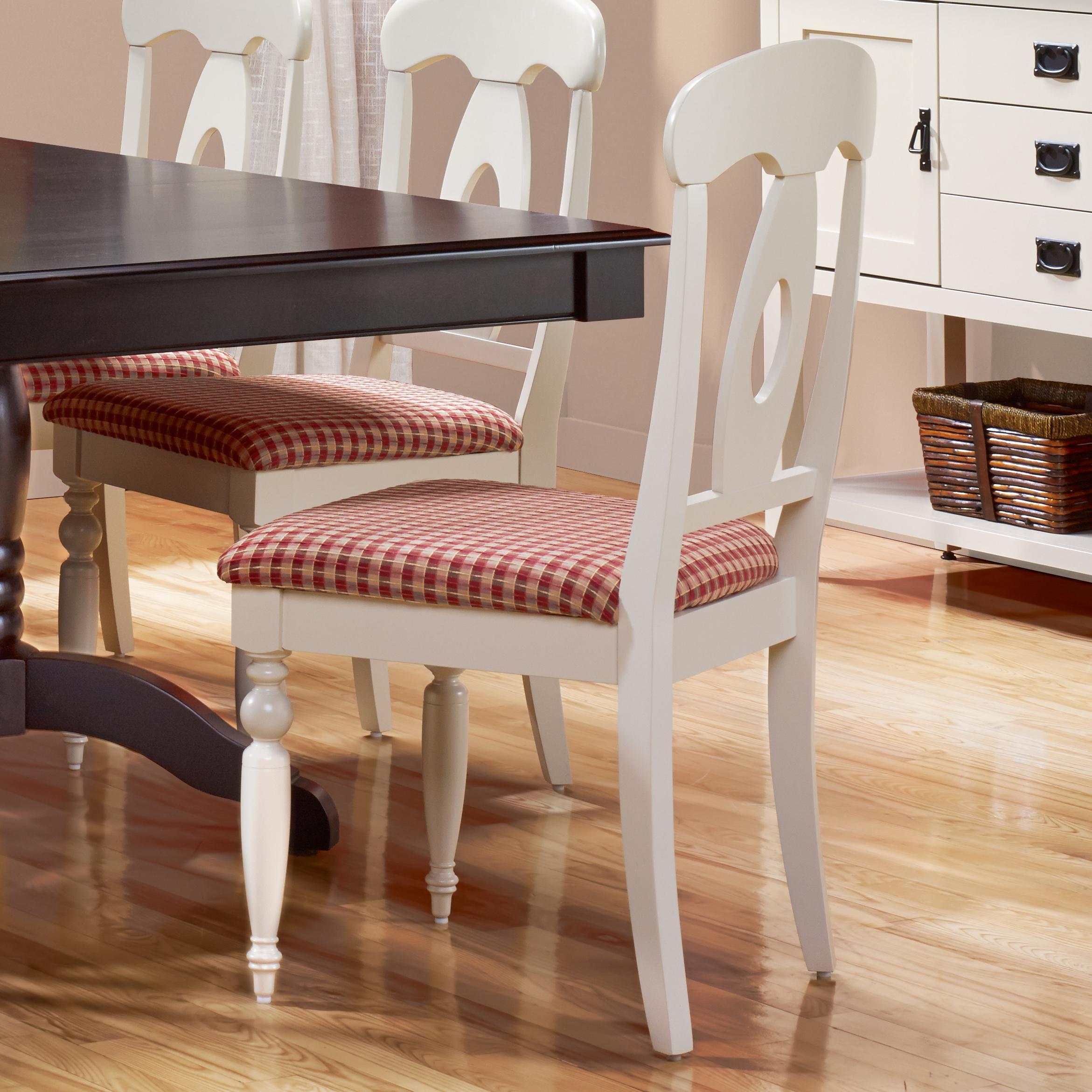 Canadel Gourmet   Custom Diningu003cbu003eCustomizableu003c/bu003e Upholstered Side ...