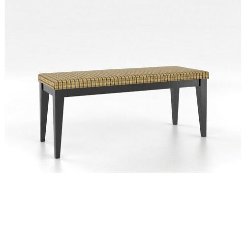 Canadel Gourmet Customizable Dining Bench