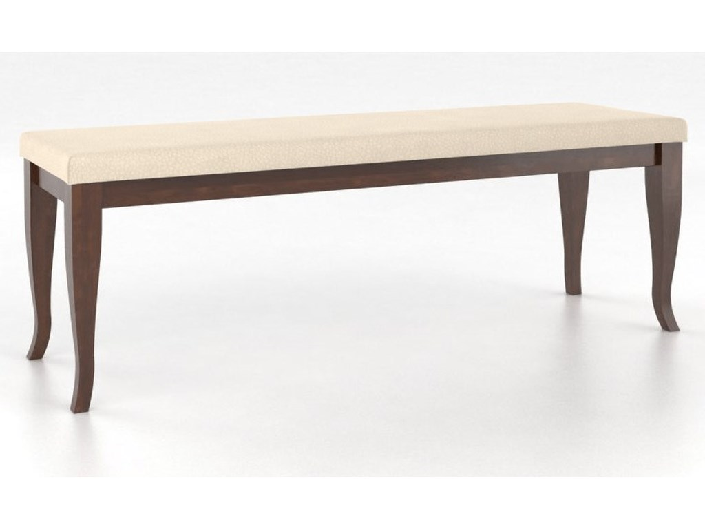 Canadel Gourmet<b>Customizable</b> Dining Bench