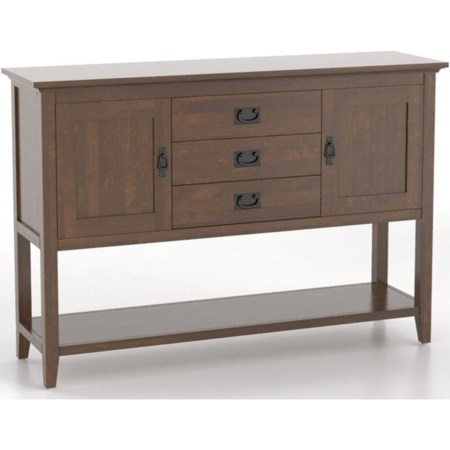 <b>Customizable</b> Sideboard
