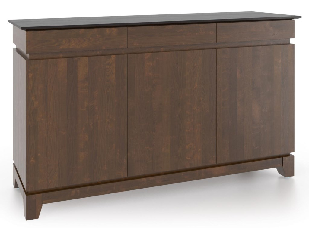 Canadel Gourmet<b>Customizable</b> Credenza