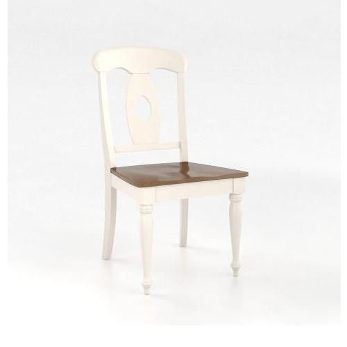 Canadel Gourmet Customizable Side Chair - Wood Seat