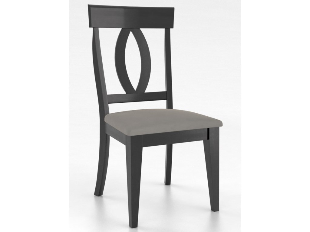 Canadel GourmetCustomizable Petite Side Chair