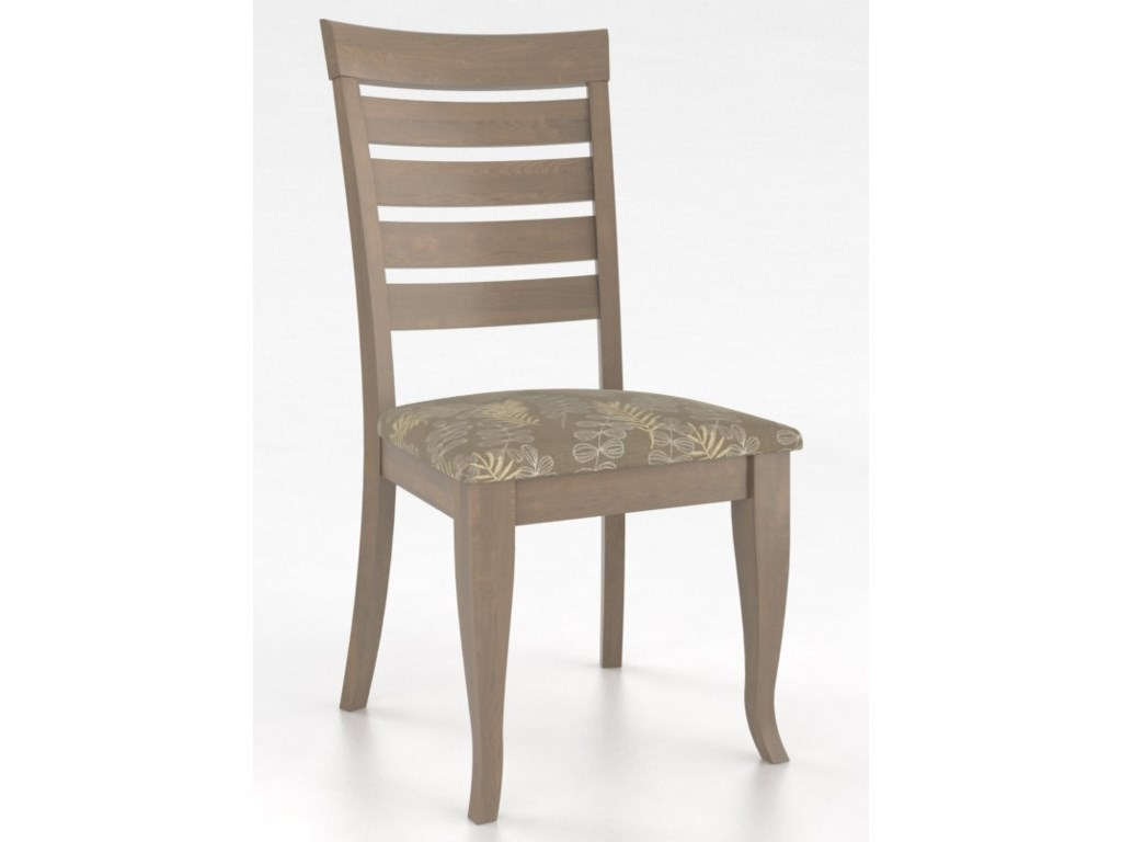 Canadel GourmetCustomizable Petite Ladder Back Side Chair