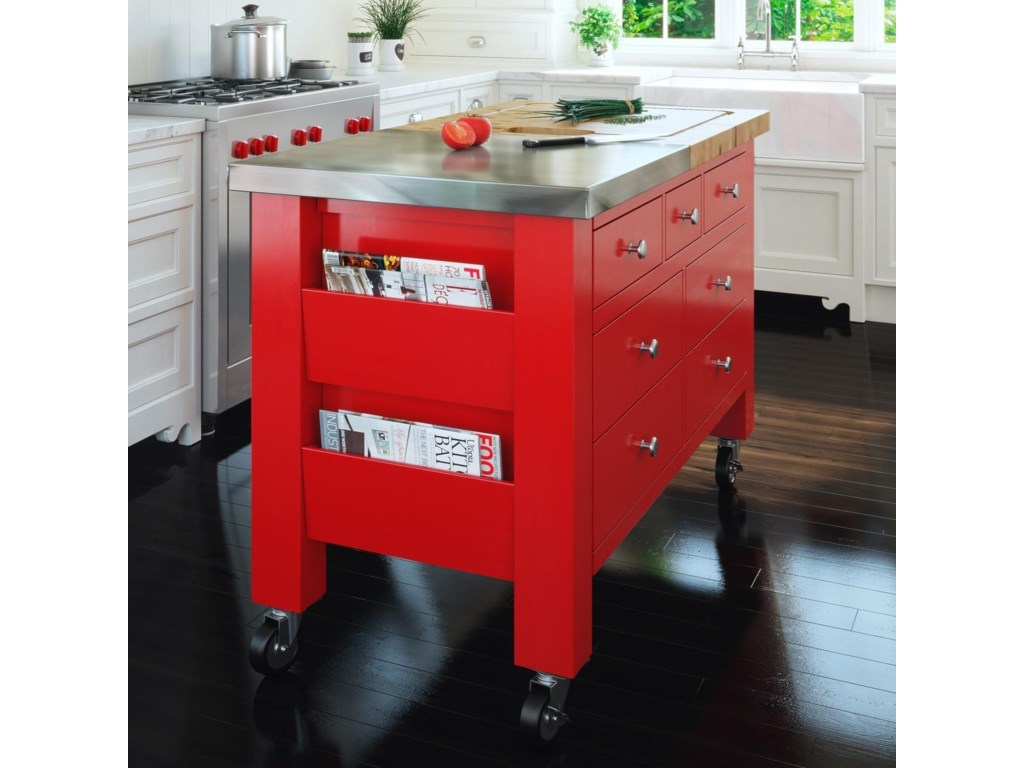 Canadel GourmetCustomizable Kitchen Island