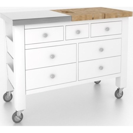 <b>Customizable</b> Kitchen Island