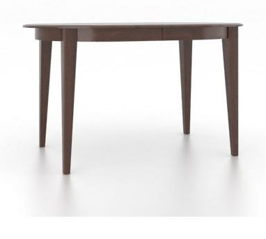 Canadel Gourmet<b>Customizable</b> Oval Counter Table