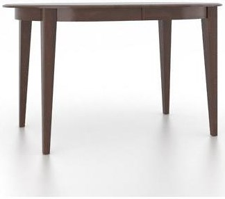 Canadel Gourmet Customizable Oval Counter Table with Legs