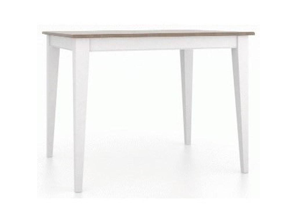Canadel GourmetCustomizable Rect. Counter Table