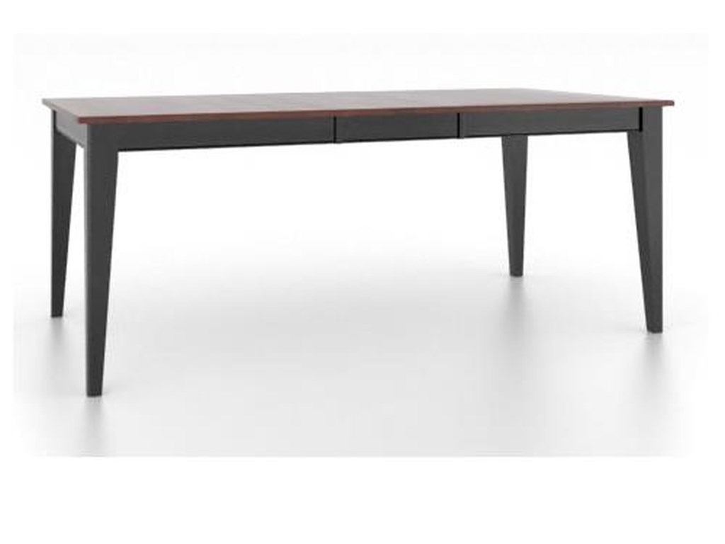Canadel Gourmet<b>Customizable</b> Rect. Table w/ Legs