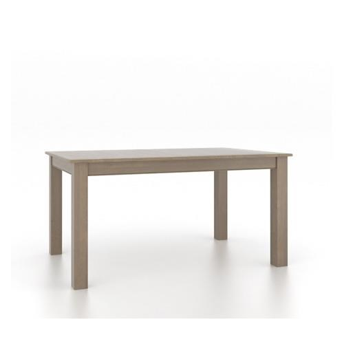 Canadel GourmetWeathered Grey Dining Table ...