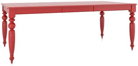 Canadel Gourmet Customizable Rectangular Table with Legs & Leaf