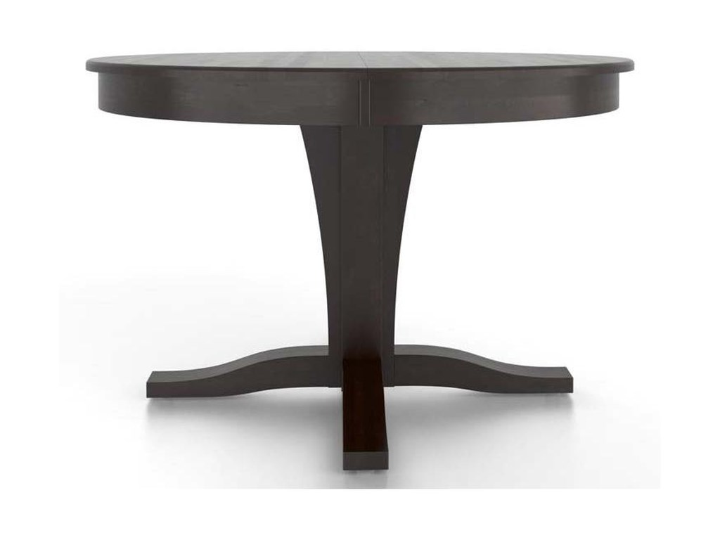 Canadel Gourmet<b>Customizable</b> Round Table w/ Pedestal