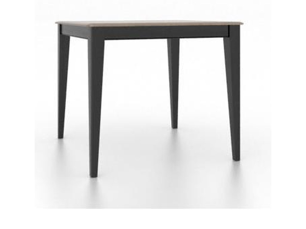 Canadel Gourmet<b>Customizable</b> Square Counter Table