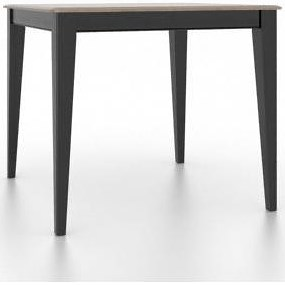 Canadel Gourmet Customizable Square Counter Table