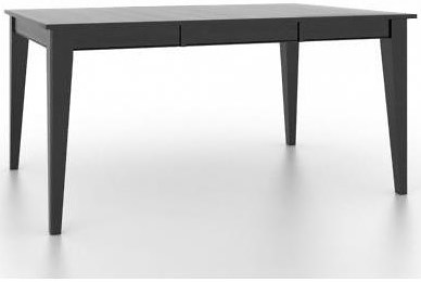 Canadel Gourmet Customizable Square/Rectangular Table with Legs