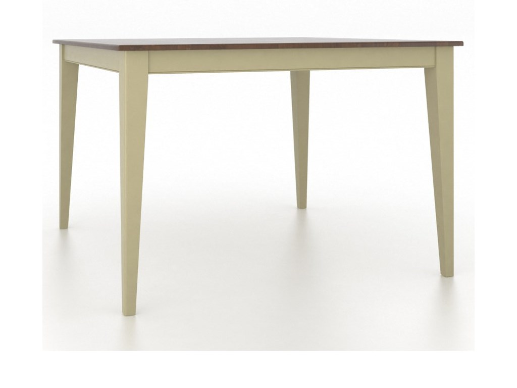 Canadel GourmetCustomizable Square Counter Table
