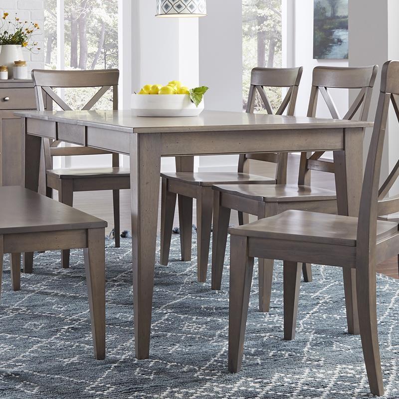 canadel gourmet dining table belfort furniture dining tables rh belfortfurniture com Canadel Dining Chairs Canadel Furniture Catalog