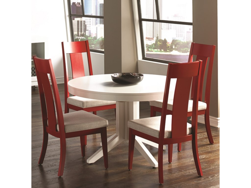 Canadel Custom DiningCustomizable Round Table Set