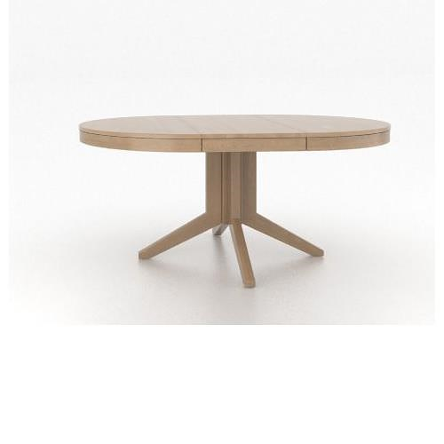 Canadel Custom Dining Customizable Round/Oval Table with Pedestal