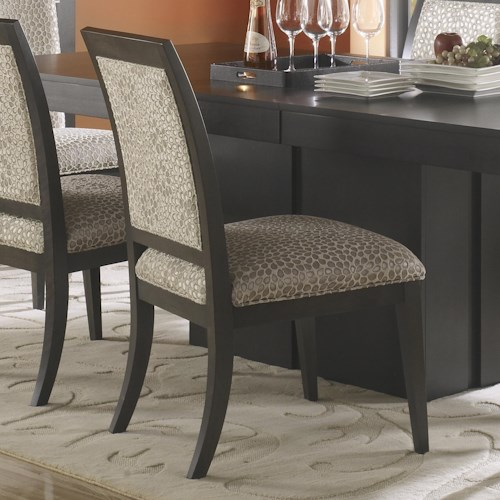 Canadel Custom Dining Contemporary Customizable Upholstered Side Chair