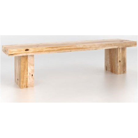 Natural Dining Bench