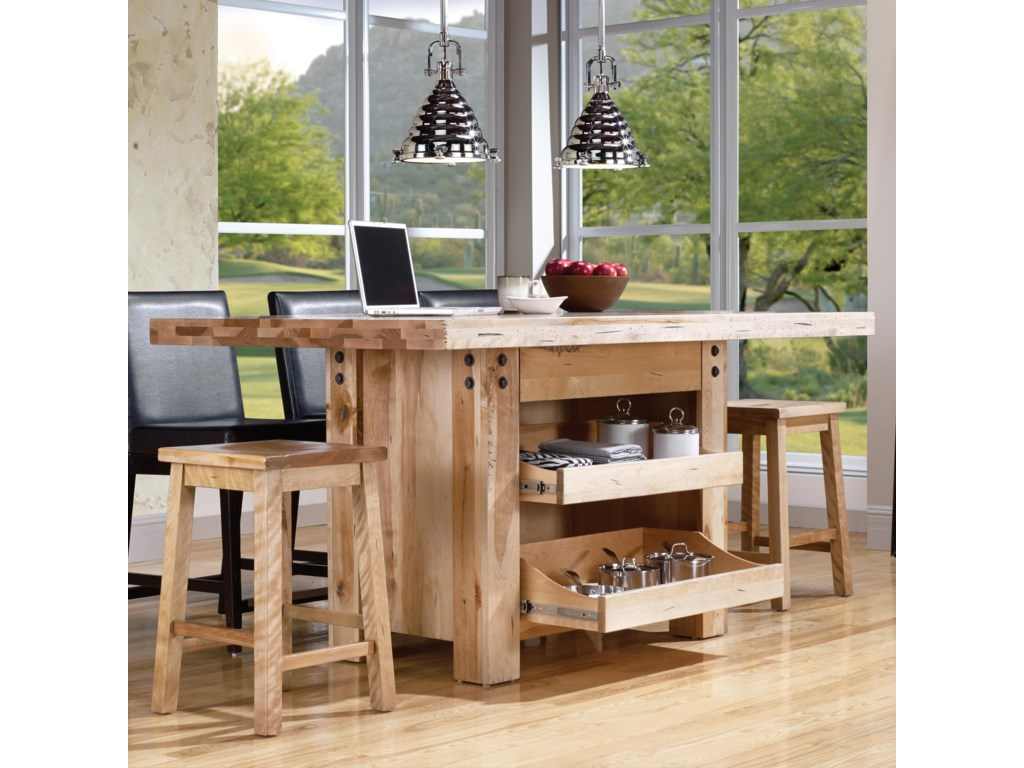 Canadel Loft - Custom Dining<b>Customizable</b> Island Table