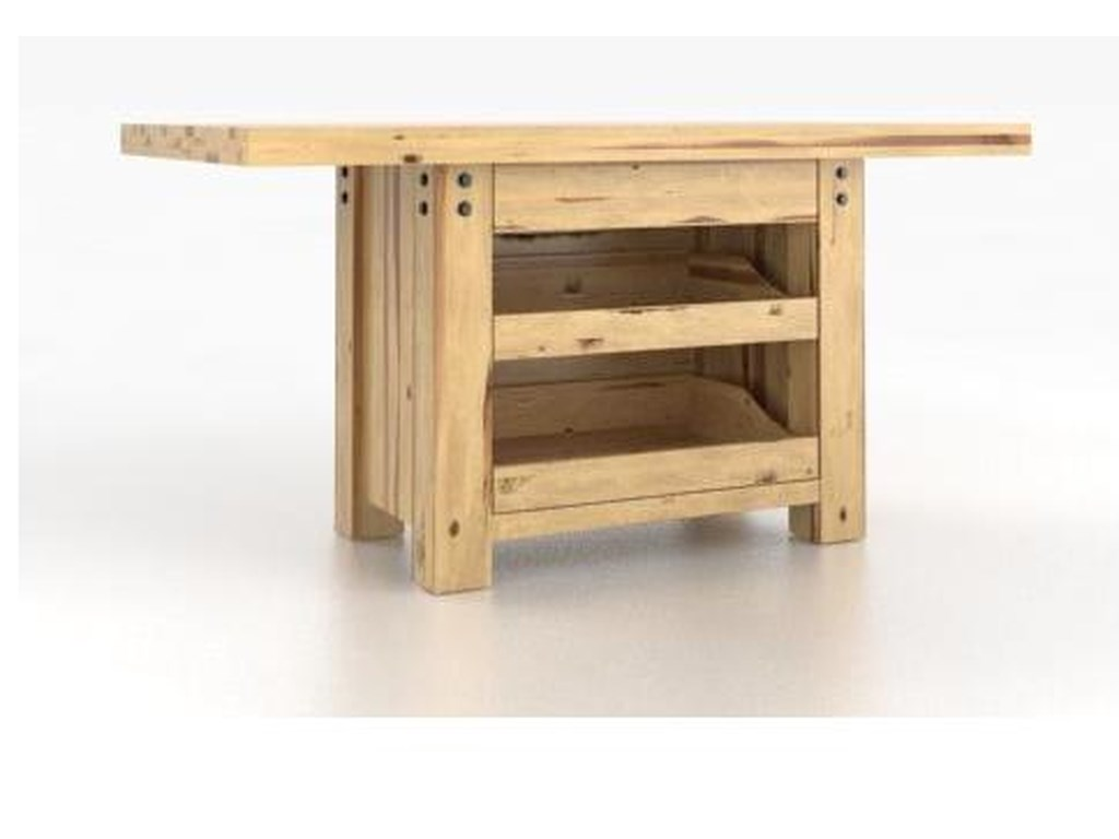 Canadel Loft - Custom Dining<b>Customizable</b> Island Table Set