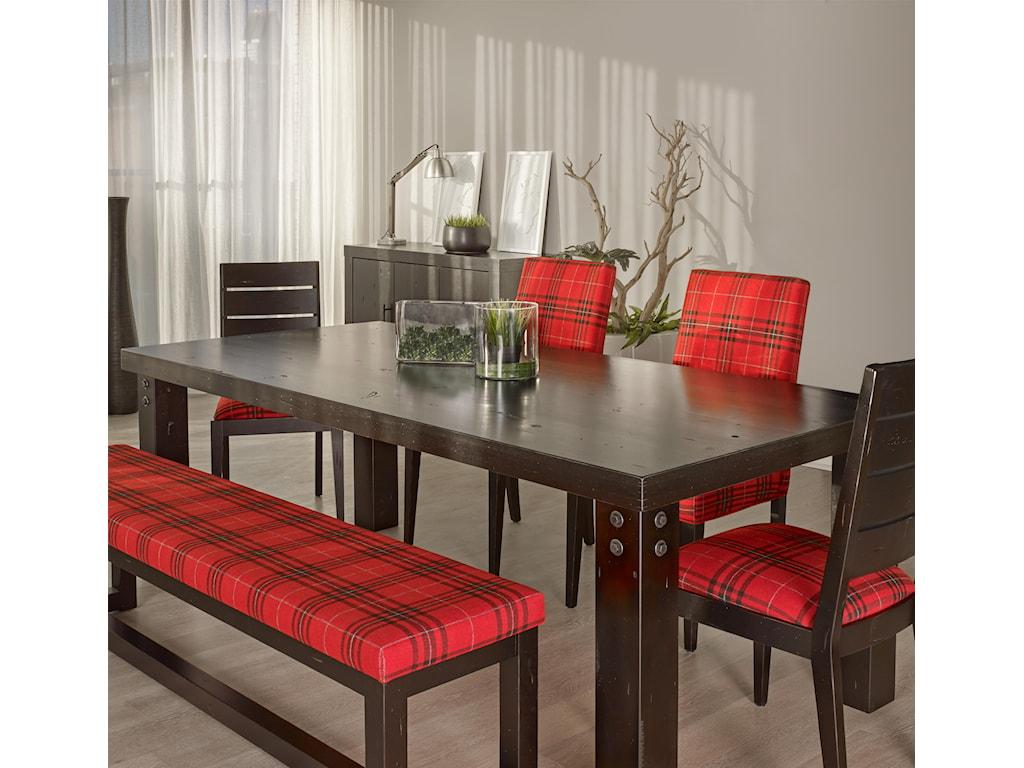 Canadel Loft - Custom Dining<b>Customizable</b> Rectangular Table