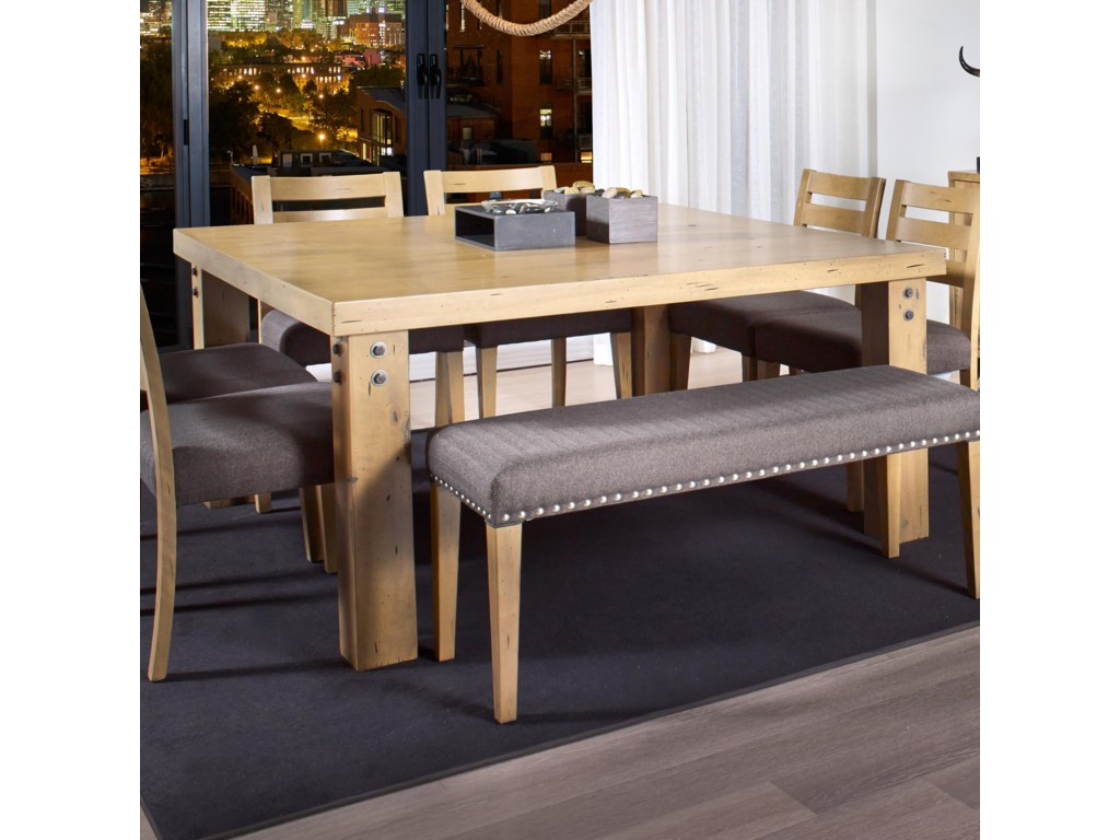 Canadel Loft - Custom Dining<b>Customizable</b> Square Dining Table