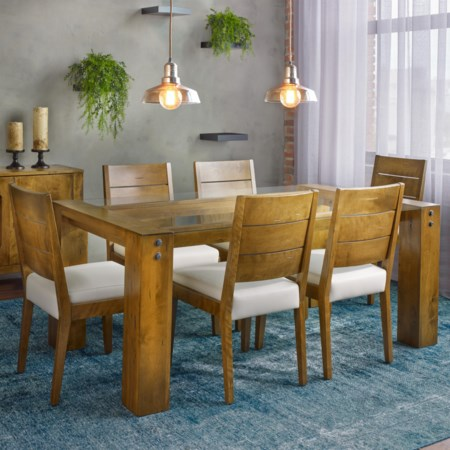 Customizable Rectangular Table Set