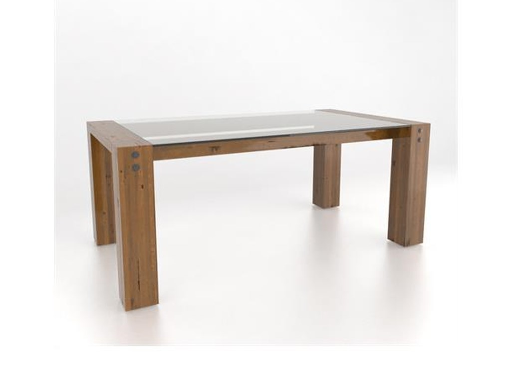 Canadel Loft - Custom DiningCustomizable Rectangular Table Set