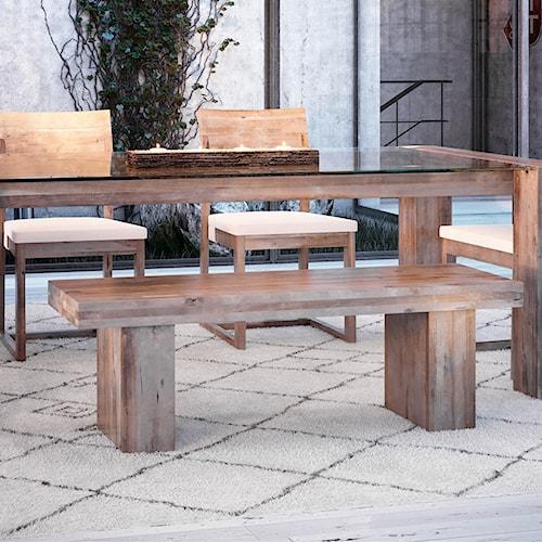 Canadel Loft - Custom Dining Customizable Bench
