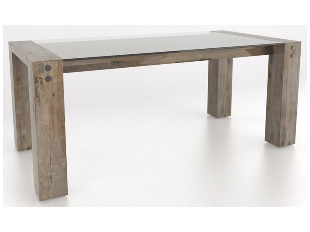 Canadel Loft - Custom DiningCustomizable Rectangular Dining Table