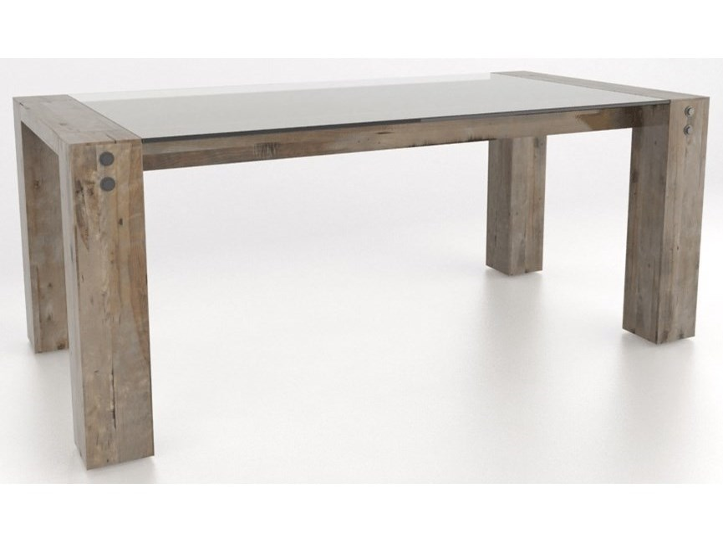 Canadel Loft - Custom DiningCustomizable Rectangular Dining Table