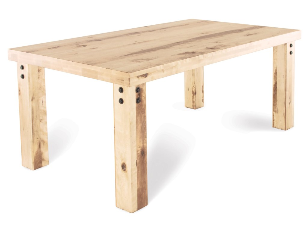 Canadel Loft - Custom Dining<b>Customizable</b> Rectangular Table Set