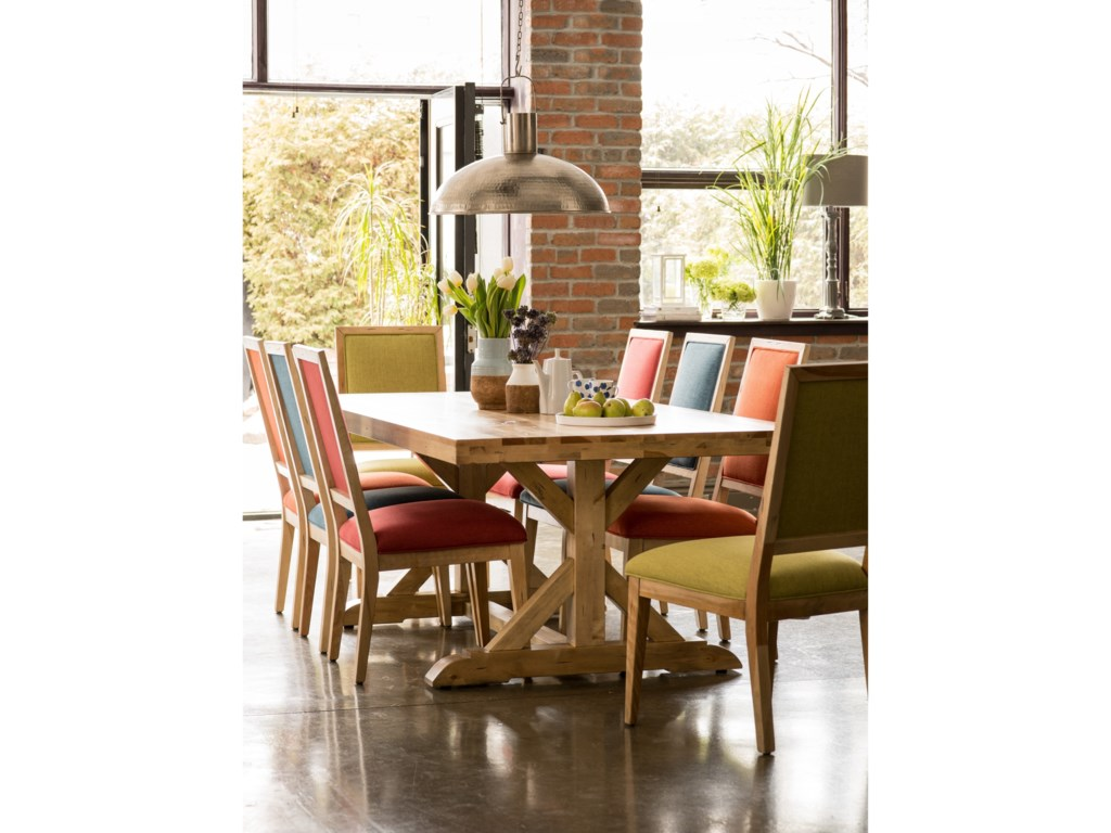 Canadel Loft - Custom DiningCustomizable Table Set