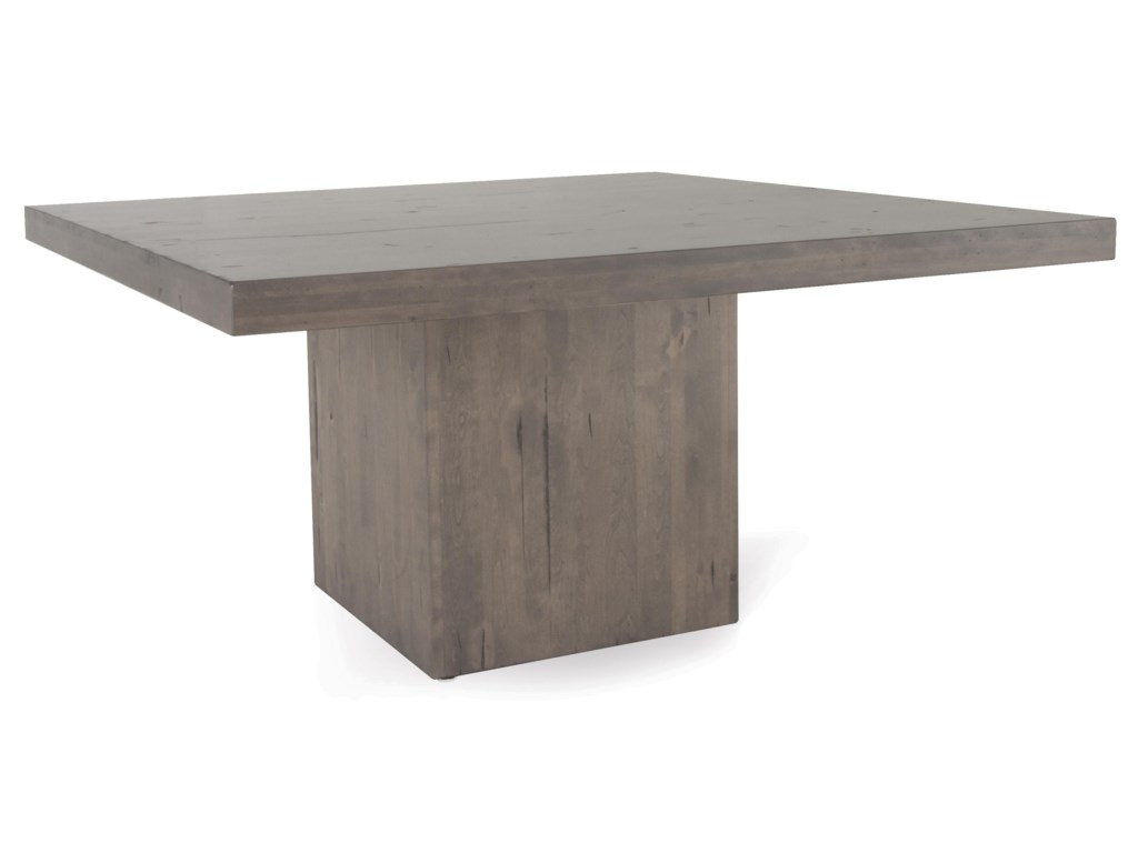 Canadel Loft - Custom DiningCustomizable Square Table Set