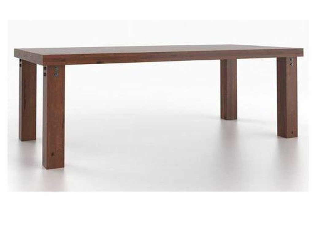 Canadel Loft - Custom Dining<b>Customizable</b> Rectangular Table