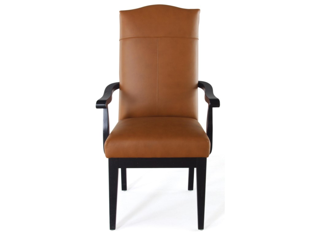 Canadel Loft - Custom Dining<b>Customizable</b> Upholstered Arm Chair