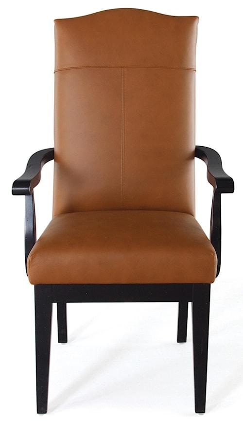 Canadel Loft - Custom Dining Customizable Upholstered Arm Chair