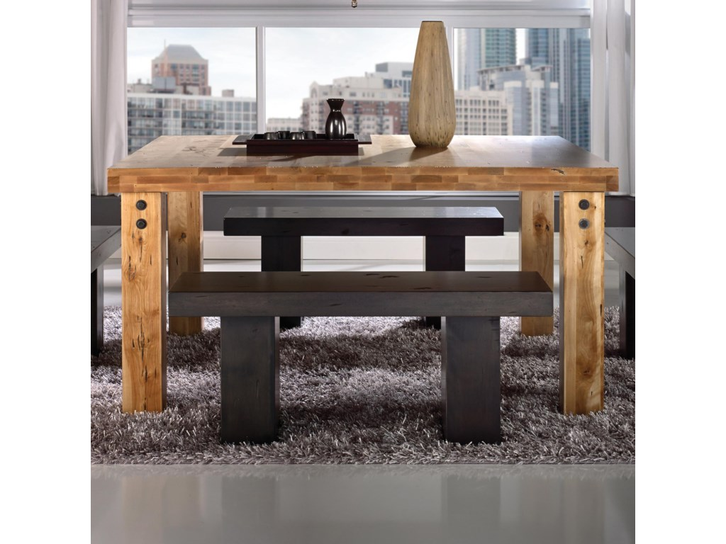 Canadel Loft - Custom Dining<b>Customizable</b> Square Table