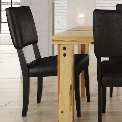Canadel Loft - Custom Dining Customizable Upholstered Side Chair