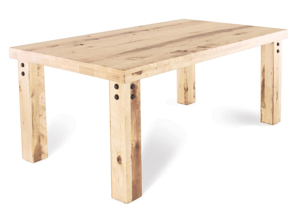 Canadel Loft - Custom Dining<b>Customizable</b> Rectangular Table Set