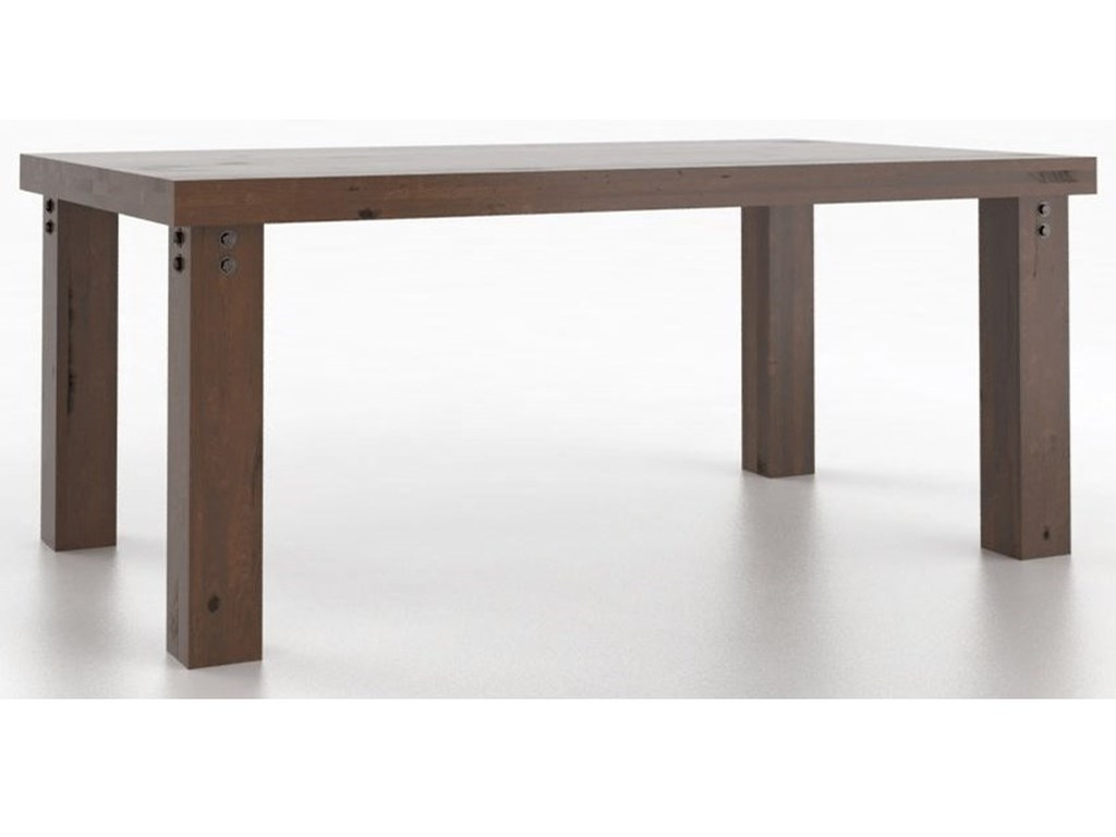 Canadel Loft<b>Customizable</b> Rectangular Dining Table
