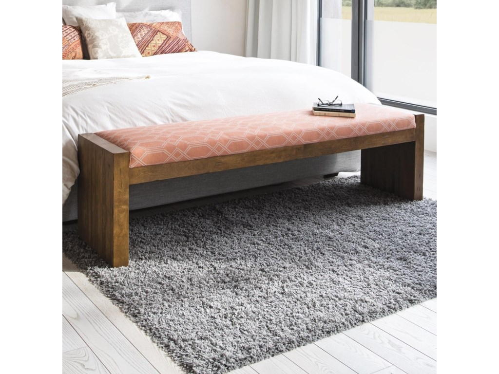 Canadel Loft - LivingCustomizable Upholstered Bench