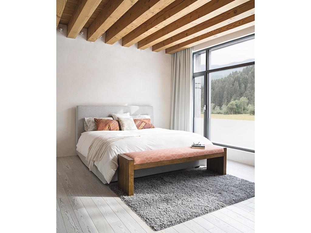 Canadel Loft - LivingCustomizable Upholstered Bench