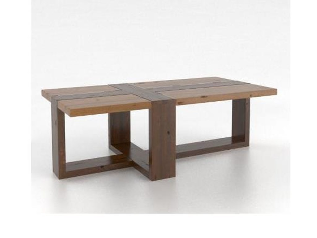 Canadel Loft - Living<b>Customizable</b> Rectangular Coffee Table